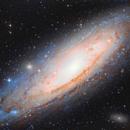 Galassia di andromeda M31,                                gnotisauton84