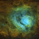 Lagoon Nebula (M8) in SHO,                                Leonel Padron