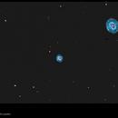 NGC 7662,                                Exaxe