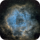 NGC 2237 - Rosette Nebula,                                Harri Kiiskinen