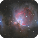 M42 and the Running Man,                                OrionRider