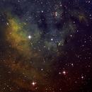 NGC 7822 (SII-HA-OIII SBIG ST-8300M) aka CED 214,                                Bill Worley