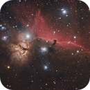 Horsehead and Flame Nebula,                                Christian Vial Arce