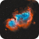 Soul Nebula in Bi-Colour,                                Kasra Karimi