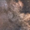 Nebulosa oscura b33 nella costellazione dell'aquila,                                fusetti