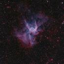 NGC2359 - Thor's Helmet in HOO,                                Janco