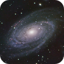 Bode's Galaxy in LRGBHa,                                Ara