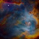 IC2944 (Running Chicken Nebula),                                Dean Carr