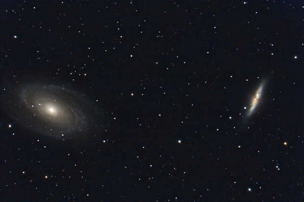 Messier 81 and 82,                                Daniel.P