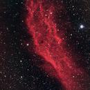 California Nebula (NGC1499) using HaRGB combination,                                JDJ