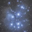 Pleiades M45,                                Wirrkopf