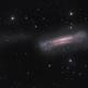 NGC3628 the Hamburger galaxy and tidal tail,                                Arnaud Peel