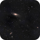 M106 and sister galaxies,                                Edward Overstreet