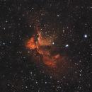 NGC 7380 Wizard Nebula HaRGB,                                xs4allan