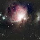 Orion and Running Man Nebula,                                Ray Heinle