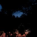 The moon at sunset,                                framoro