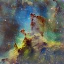 ic1805 -- Heart Nebula,                                Michael Sherick