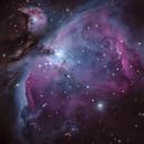 A close view of M42,                                Jeff Marston