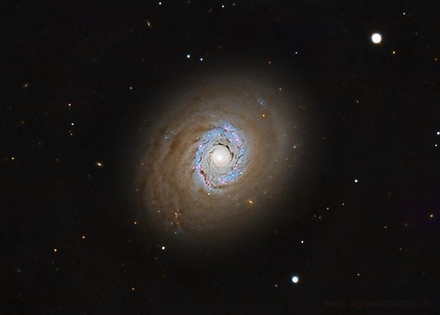 Cat's Eye Galaxy (LRGB, Messier 94),                                Henning Schmidt