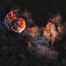 IC443 - The Jellyfish Nebula,                                Jason Wiscovitch