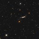 NGC 3432 in Leo Minor,                                Nurinniska