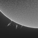 Sun in Halpha - March 20, 2021,                                JDJ