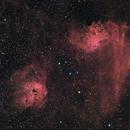 Flaming Star Nebula,                                Idahoman