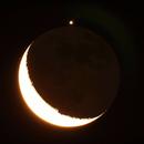 Occultation de Jupiter par la Lune : animation fin du phénomène,                                Philastro