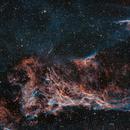 Mosaic panel 2 : NGC69790 Pickering 's triangle - East Veil nebula,                                Arnaud Peel