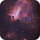 Omega Nebula - 6 hours of subs - 3 nights of acquisition ...:-),                                Daniel Nobre