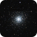 M92 my first attempt at a star cluster,                                James R Potts