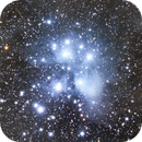 M45 - The Pleiades,                                Julian Mochayedi