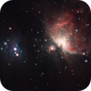The Orion and Running Man Nebula,                                Evelyn Decker