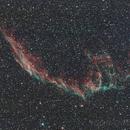 NGC6992, Eastern Veil, or Network nebula,                                Phil Hosey