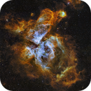 The Great Carina Nebula: 7 Panel Narrowband Mosaic - (my Magnum Opus!),                                Andy 01