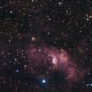 Reprocessed NGC 7635 The Bubble Nebula HaRGB,                                John