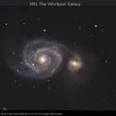 M51 The Whirlpool Galaxy,                                Dominique Callant