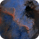 Ngc7000 - Crop on The Wall and The Gulf,                                regis83