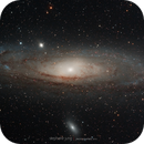 Galaxie M31 Andromède,                                Stephane Jung