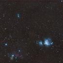 Comet C2020 Atlas M3 in Orion,                                Piet Vanneste