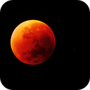 Total lunar eclipse from Tunisia,                                Bach hamba Youssef