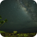 Milky Way and Jupiter from Kauai on July 27, 2019,                                JDJ