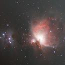 Great Orion Nebula and Running Man Nebula 2021-02-07,                                Greg Harp