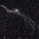 NGC 6960 - Veil Nebula,                                Blackstar60