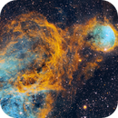 Great Balls of Fire!  NGC3324 in SHO,                                robonrome