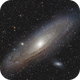 M31 APO 80x480  /  ATIK ONE  /  AZEQ6 (2 tiles), in LHa-RGB,                                Pulsar59