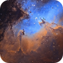 M16 - The Eagle Nebula,                                CAAT - Centro Astronomico del Alto Turia
