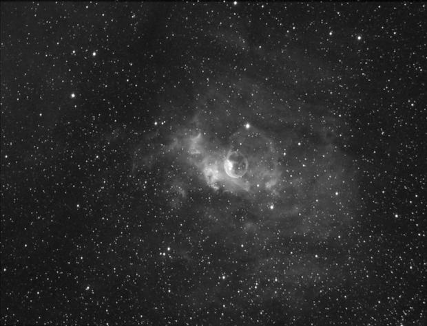 NGC 7635 La bulle,                                Le Mouellic Guill...
