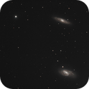 Galaxies du Trio du Lion,                                Nicolas JAUME
