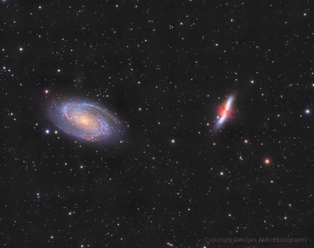 M81 & M82,                                Georges